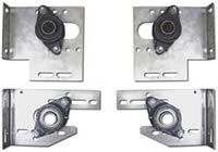 Galvanized Plates & Galvanized Bearings for Car Wash Doors