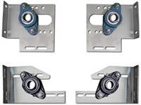 Stainless Steel Plates & Standard Bearings for Car Wash Doors